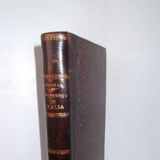 Libros antiguos: ## RECUERDOS DE ITALIA ##EMILIO CASTELAR ##VIAJES- 1876 ##. Lote 175023408