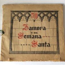 Libros antiguos: ÁLBUM. ZAMORA Y SU SEMANA SANTA, 1943. . Lote 175111285