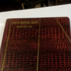 Libros antiguos: LIBRO CORTE SISTEMA MARTI SASTRERIA 1936. Lote 184877583