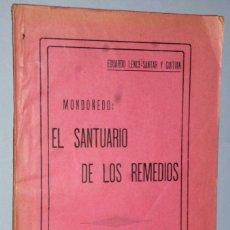 Libros antiguos: MONDOÑEDO: EL SANTUARIO DE LOS REMEDIOS. Lote 175162600