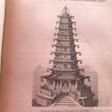 Libros antiguos: 1892. GEOGRAFIA PINTORESCA. VIAJES AL REDEDOR DEL MUNDO, ASIA, AFRICA EUROPA, AMERICA. J. BASTINOS.. Lote 175217542