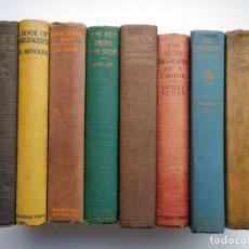 Libros antiguos: LOTE DE 10 LIBROS ANTIGUOS DE MÁS DE 90 AÑOS, PUBLICADOS ENTRE 1906 Y 1929. Lote 175222740