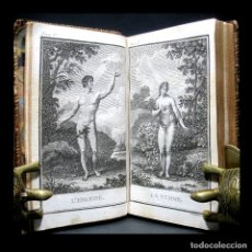 Libros antiguos: AÑO 1806 HISTORIA NATURAL 11 ESPECTACULARES GRABADOS MUJER HOMBRE GATOS PERROS CAMELLO BUFFON PARÍS. Lote 175304114