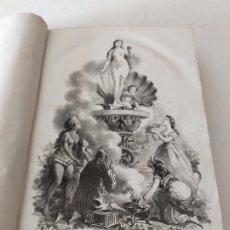 Libros antiguos: DUFOUR : HISTORIA DE LA PROSTITUCIÓN EN TODOS LOS PUEBLOS DEL MUNDO TOMO II (PONS 1870) CON GRABADOS. Lote 175309854
