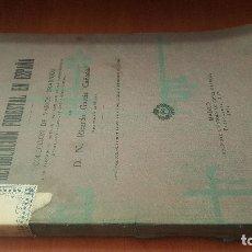 Libros antiguos: LAS INUNDACIONES Y LA REPOBLACION FORESTAL EN ESPAÑA, GARCIA CAÑADA, MADRID 1920. Lote 175317729
