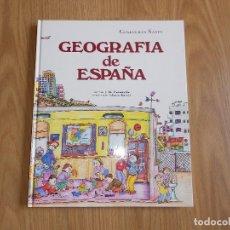 Libros antiguos: GEOGRAFIA DE ESPAÑA - COLECCION SABER - PILARIN BAYES - J M PANAREDA - ILUSTRADO - 1993. Lote 175363120