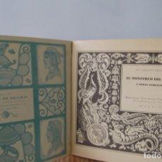 Libros antiguos: #CUENTOS DE CALLEJA # EL MONSTRUO DEL OCEANO # SATURNINO CALLEJA # MADRID # AÑO 1935 #. Lote 175406974