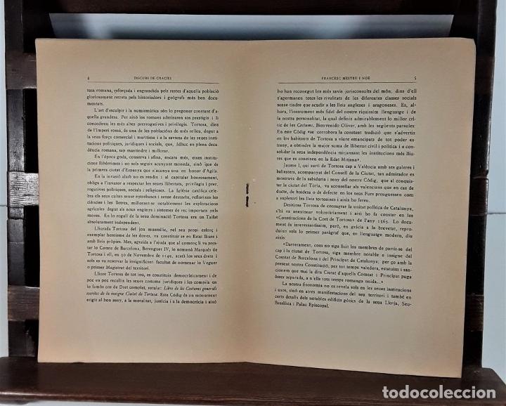 Libros antiguos: DISCURS DE GRACIES DELS JOCS FLORALS DE BARCELONA. IMP. LA RENAIXENÇA. 1931. - Foto 3 - 175413659