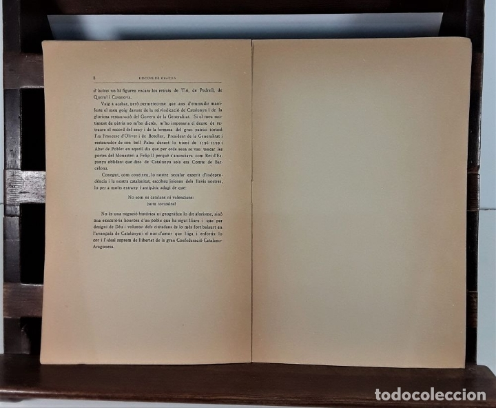 Libros antiguos: DISCURS DE GRACIES DELS JOCS FLORALS DE BARCELONA. IMP. LA RENAIXENÇA. 1931. - Foto 4 - 175413659