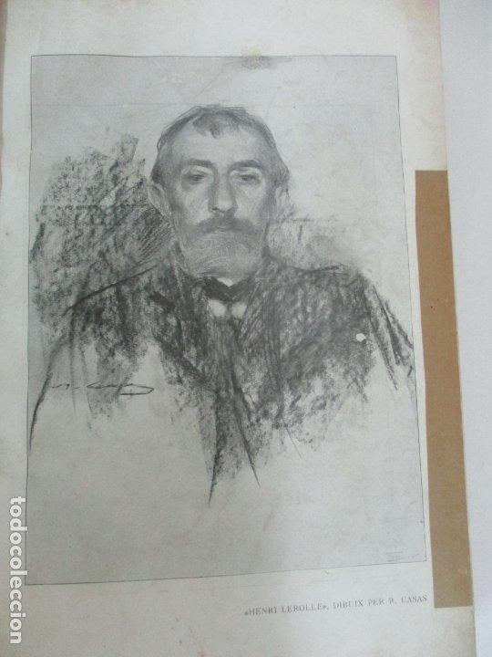 Libros antiguos: Pel & Ploma - Revista Mensual con Dibujos - Ramón Casas, M. Utrillo - Cuarto Año Completo - 1903 - Foto 7 - 175476369