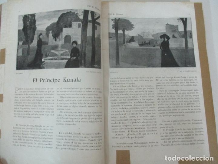 Libros antiguos: Pel & Ploma - Revista Mensual con Dibujos - Ramón Casas, M. Utrillo - Cuarto Año Completo - 1903 - Foto 9 - 175476369