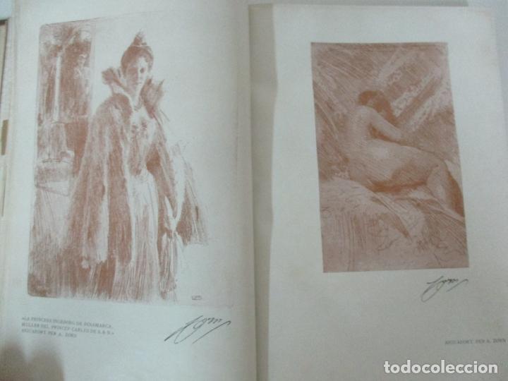Libros antiguos: Pel & Ploma - Revista Mensual con Dibujos - Ramón Casas, M. Utrillo - Cuarto Año Completo - 1903 - Foto 15 - 175476369