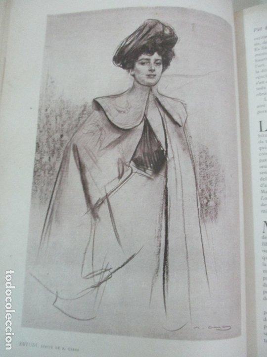 Libros antiguos: Pel & Ploma - Revista Mensual con Dibujos - Ramón Casas, M. Utrillo - Cuarto Año Completo - 1903 - Foto 17 - 175476369