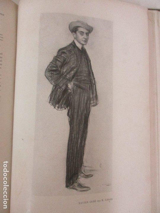 Libros antiguos: Pel & Ploma - Revista Mensual con Dibujos - Ramón Casas, M. Utrillo - Cuarto Año Completo - 1903 - Foto 18 - 175476369