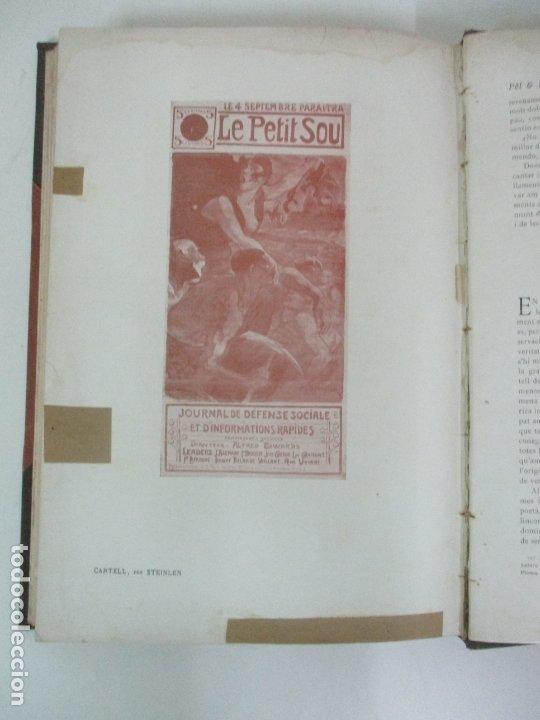 Libros antiguos: Pel & Ploma - Revista Mensual con Dibujos - Ramón Casas, M. Utrillo - Cuarto Año Completo - 1903 - Foto 20 - 175476369