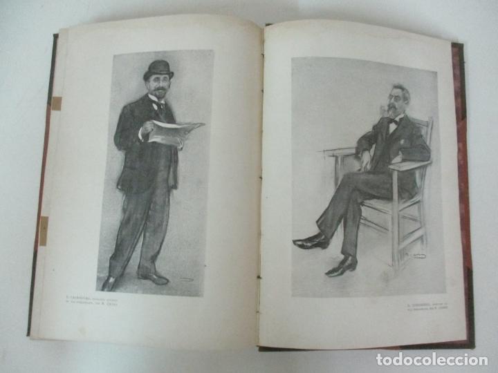 Libros antiguos: Pel & Ploma - Revista Mensual con Dibujos - Ramón Casas, M. Utrillo - Cuarto Año Completo - 1903 - Foto 21 - 175476369