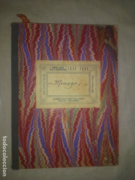 Libros antiguos: ANTIGUO LIBRO DE RECETAS COCINA MANUSCRITO DEL SIGLO XIX. MALLORCA - EXCEPCIONAL. - Foto 5 - 175487407