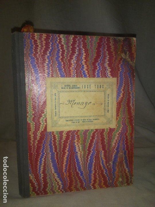 ANTIGUO LIBRO DE RECETAS COCINA MANUSCRITO DEL SIGLO XIX. MALLORCA - EXCEPCIONAL. (Libros Antiguos, Raros y Curiosos - Cocina y Gastronomía)