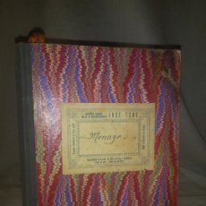 Libros antiguos: ANTIGUO LIBRO DE RECETAS COCINA MANUSCRITO DEL SIGLO XIX. MALLORCA - EXCEPCIONAL.. Lote 175487407