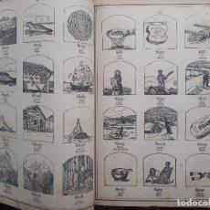 Libros antiguos: LIBRO DE OBJETOS. ILUSTRADO EN INGLÉS Y CASTELLANO QUE CONTIENE MÁS DE 2000 GRABADOS. . Lote 175501080