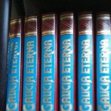 Libros antiguos: 6 TOMOS GALICIA ETERNA (COMPLETA) 1984 EDICIONES NAUTA . Lote 175582742