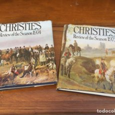Libros antiguos: CHRISTIE'S REVIEW OF THE SEASON 1973 , 1974 CATALOGOS PROFESIONALES . Lote 175610512