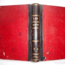 Libros antiguos: RAMÓN CASAL Y AMENEDO EJERCICIOS DE ANÁLISIS LITERARIOS Y95851. Lote 175665630