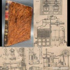 Libros antiguos: 1881 - MAQUINISTAS NAVALES Y TERRESTRES - GRABADOS - LAMINAS - MAQUINA DE VAPOR - INGENIERÍA . Lote 175723083