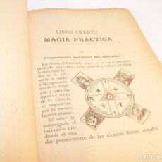 Libros antiguos: MUY INTERESANTE OBRA. MAGIA TEÚRGICA. JUAN TORRENTS Y CORRAL. PRIMERA EDICIÓN. 1899. BARCELONA.. Lote 175726398