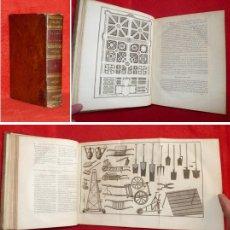 Libros antiguos: AÑO 1798 - 27CM - AGRICULTURA Y JARDINERÍA - 20 LÁMINAS ENORMES - 15 DESPLEGABLES - 2KG. Lote 175731413