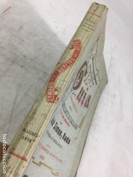 Libros antiguos: Guía teórico practica para fabricante de calzado y hormas Madrid 1878 Láminas desplegables patron - Foto 2 - 175868287