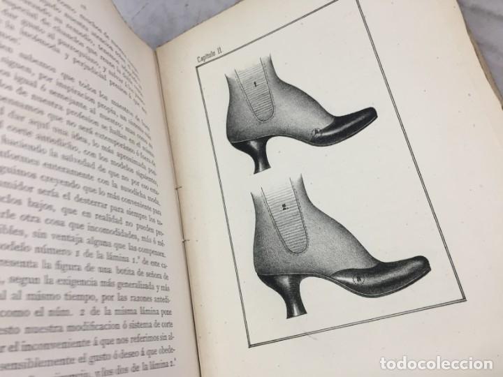 Libros antiguos: Guía teórico practica para fabricante de calzado y hormas Madrid 1878 Láminas desplegables patron - Foto 9 - 175868287