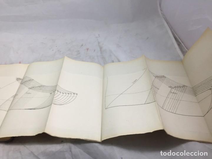 Libros antiguos: Guía teórico practica para fabricante de calzado y hormas Madrid 1878 Láminas desplegables patron - Foto 13 - 175868287