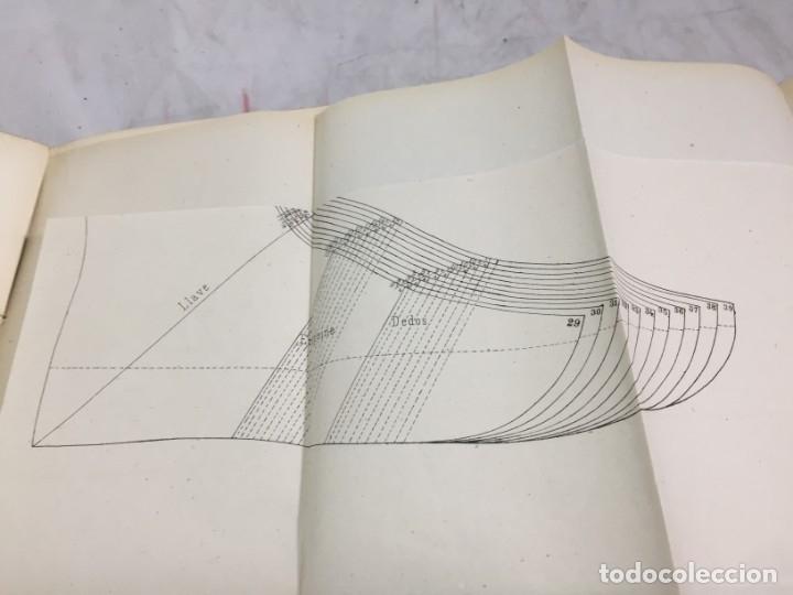 Libros antiguos: Guía teórico practica para fabricante de calzado y hormas Madrid 1878 Láminas desplegables patron - Foto 14 - 175868287