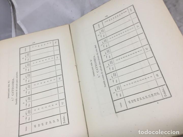Libros antiguos: Guía teórico practica para fabricante de calzado y hormas Madrid 1878 Láminas desplegables patron - Foto 16 - 175868287