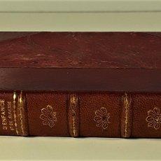 Libros antiguos: SOUVENIRS DENFANCE ET DE JEUNESSE. H. PERNOT. LIB. PLON. PARÍS. S/F.. Lote 175953987