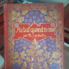 Livres anciens: AU BUT QUAND MEME. M. LAUBOT. ED. S.F.E.A 1900?. Lote 175961849