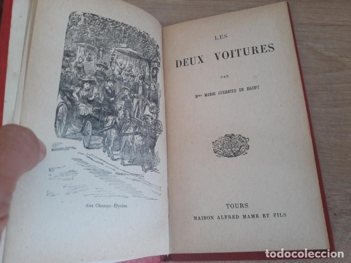 LES DEUX VOITURES, MARIE GUERRIER DE HAUPT. TOURS 1891 (Libros Antiguos, Raros y Curiosos - Otros Idiomas)