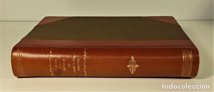HISTOIRE DE LHABITATION HUMAINE. V. DUC. BIBLI. J. HETZEL Y CIE. PARÍS. S/F. (Libros Antiguos, Raros y Curiosos - Pensamiento - Otros)