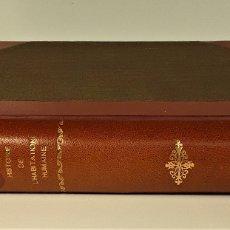 Libros antiguos: HISTOIRE DE LHABITATION HUMAINE. V. DUC. BIBLI. J. HETZEL Y CIE. PARÍS. S/F.. Lote 175981614