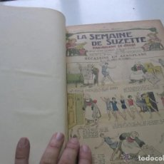 Libros antiguos: LA SEMAINE DE SUZETTE - AÑO 1930 ENCUADERNADO Nº 1 A 48 MUY ILUSTRADO XGC5. Lote 175990359