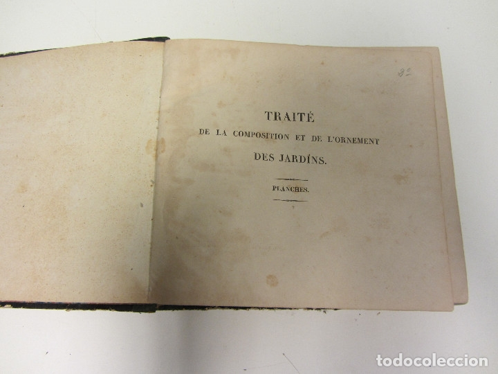Libros antiguos: Traité de la Composition et de lOrnement des Jardins. AUDOT L. E.-?. 1839 - Foto 5 - 175995475