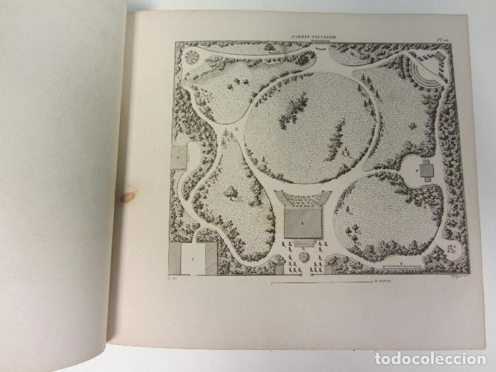 Libros antiguos: Traité de la Composition et de lOrnement des Jardins. AUDOT L. E.-?. 1839 - Foto 7 - 175995475