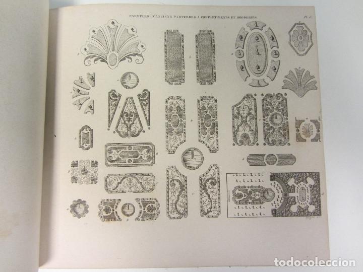 Libros antiguos: Traité de la Composition et de lOrnement des Jardins. AUDOT L. E.-?. 1839 - Foto 9 - 175995475