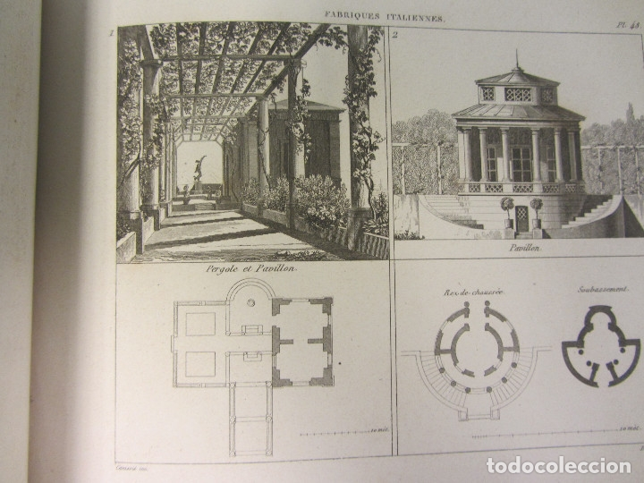 Libros antiguos: Traité de la Composition et de lOrnement des Jardins. AUDOT L. E.-?. 1839 - Foto 12 - 175995475