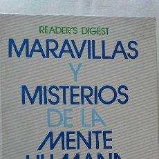 Libros antiguos: MARAVILLAS Y MISTERIOS DE LA MENTE HUMANA. Lote 176019447