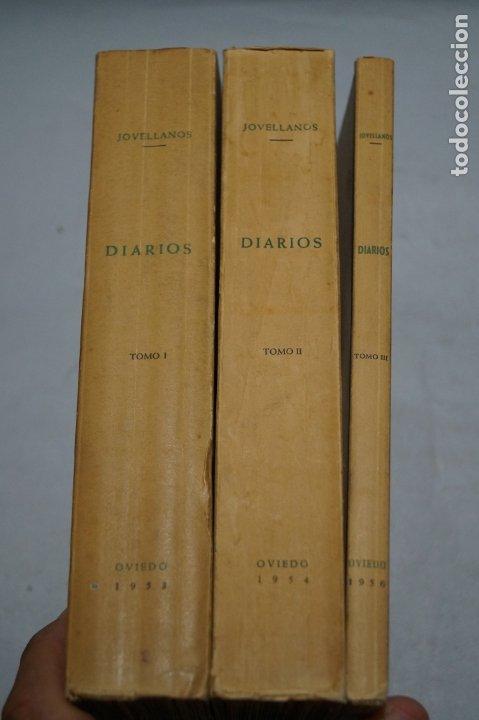 Libros antiguos: DIARIOS. GASPAR MELCHOR DE JOVELLANOS. - Foto 2 - 176077113