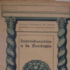 Libros antiguos: INTRODUCCIÒN A LA ZOOLOGIA SEIX & BARRAL - PORTAL DEL COL·LECCIONISTA *****. Lote 176100970