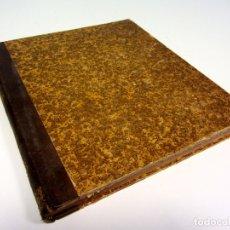 Libros antiguos: TRAITÉ SPÉCIAL DE COUPE DES PIERRES PAR J.P. DOULIOT ATLAS DUNOD ËDITEUR, 1869. VER FOTOGRAFÍAS. . Lote 176102400
