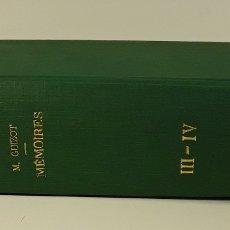 Libros antiguos: MÉMOIRES POUR SERVIR A LHISTOIRES DE MON TEMPS. VOLUM III Y IV. PARÍS. 1875.. Lote 176106303